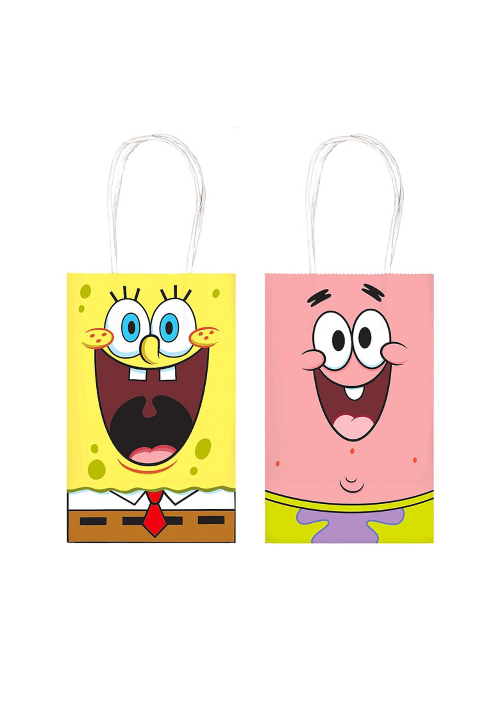 SpongeBob SquarePants Kraft Bags - 8ct