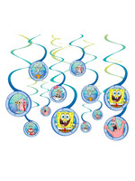 SpongeBob SquarePants & Friends Swirl Decorations - 12ct