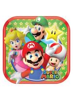 Super Mario Dessert Plates 8ct