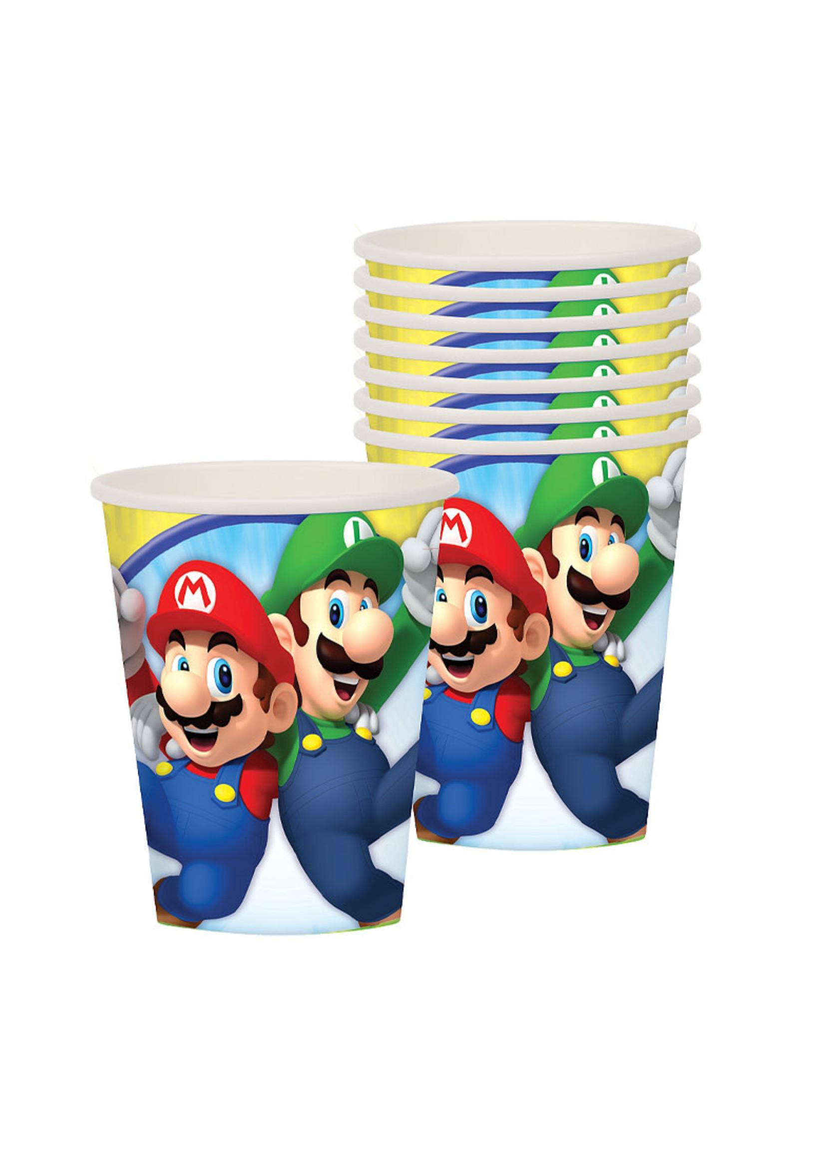 Super Mario Cups 8ct
