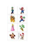 Super Mario Tattoos 1 Sheet
