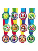 Super Mario Award Medals 12ct