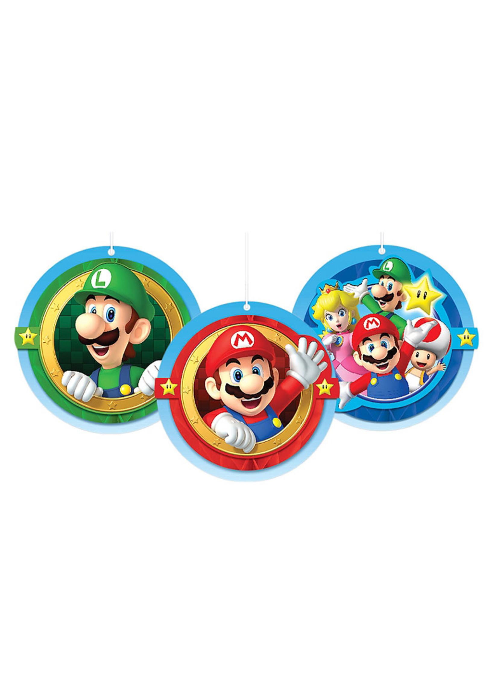 Super Mario Honeycomb Balls 3ct
