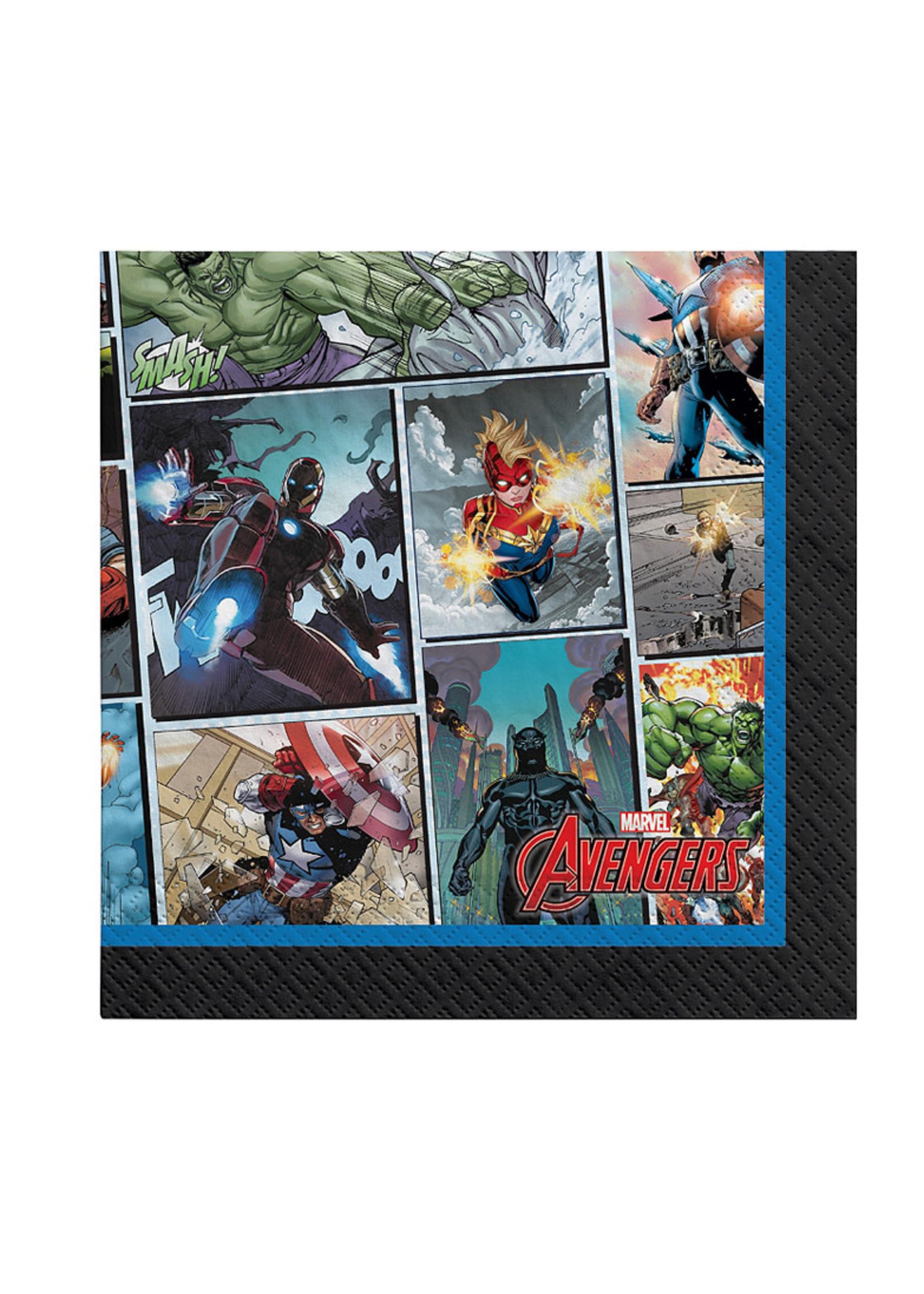 Marvel Powers Unite Beverage Napkins 16ct