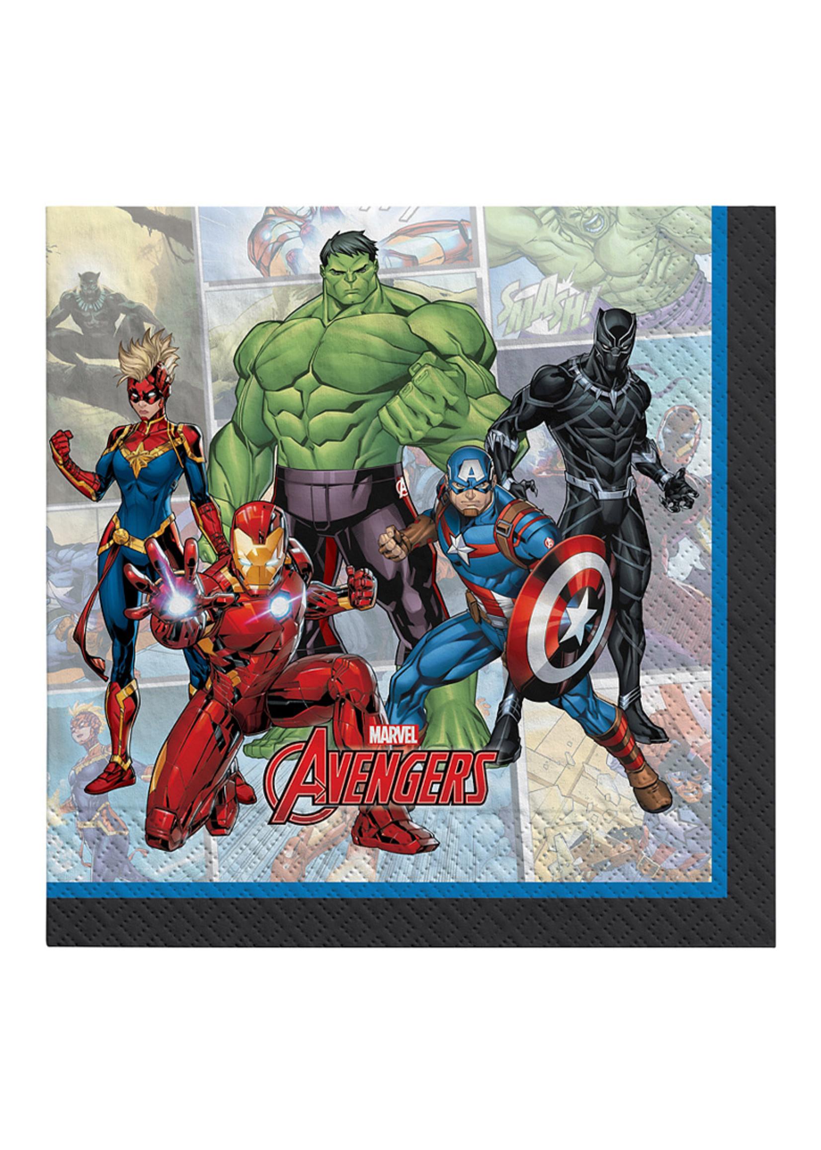 Marvel Powers Unite Lunch Napkins 16ct