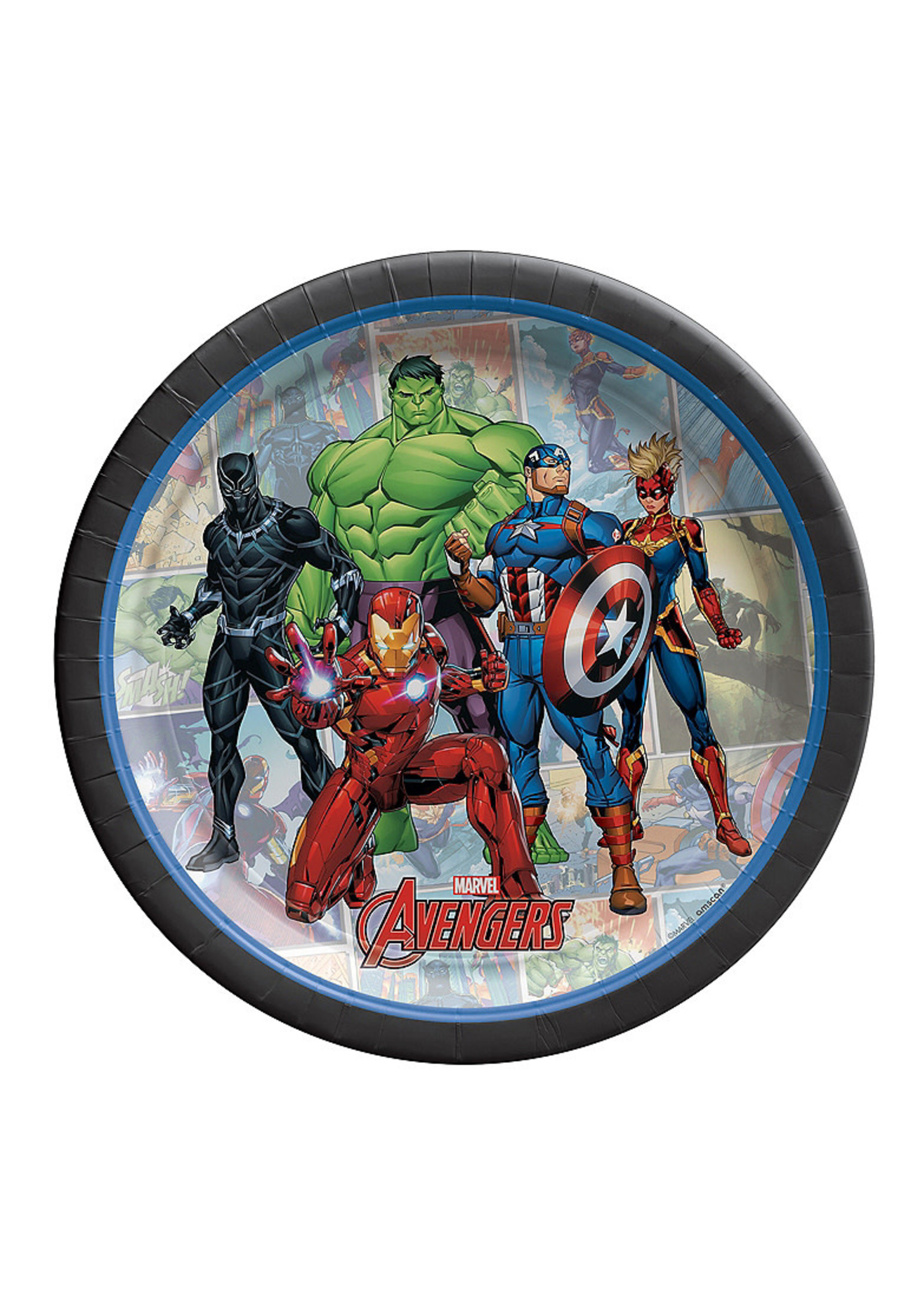 Marvel Powers Unite Dessert Plates 8ct