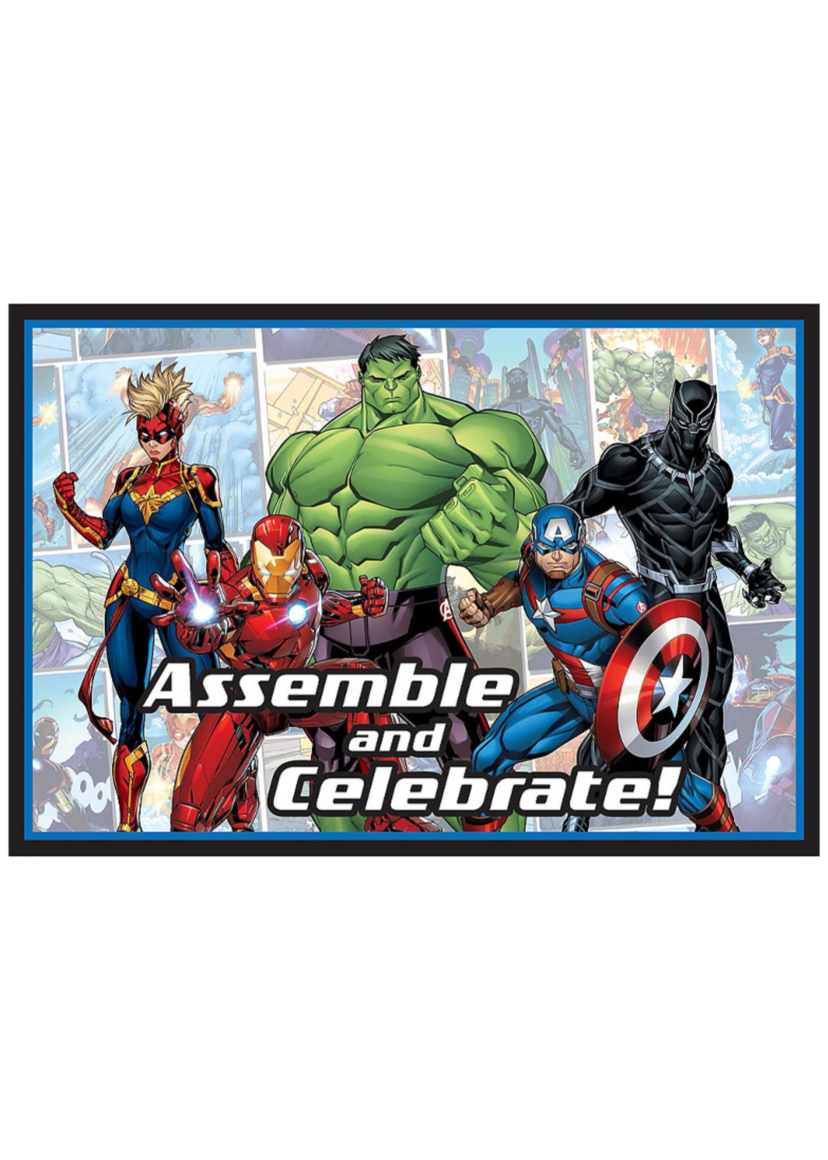 Marvel Powers Unite Invitations 8ct