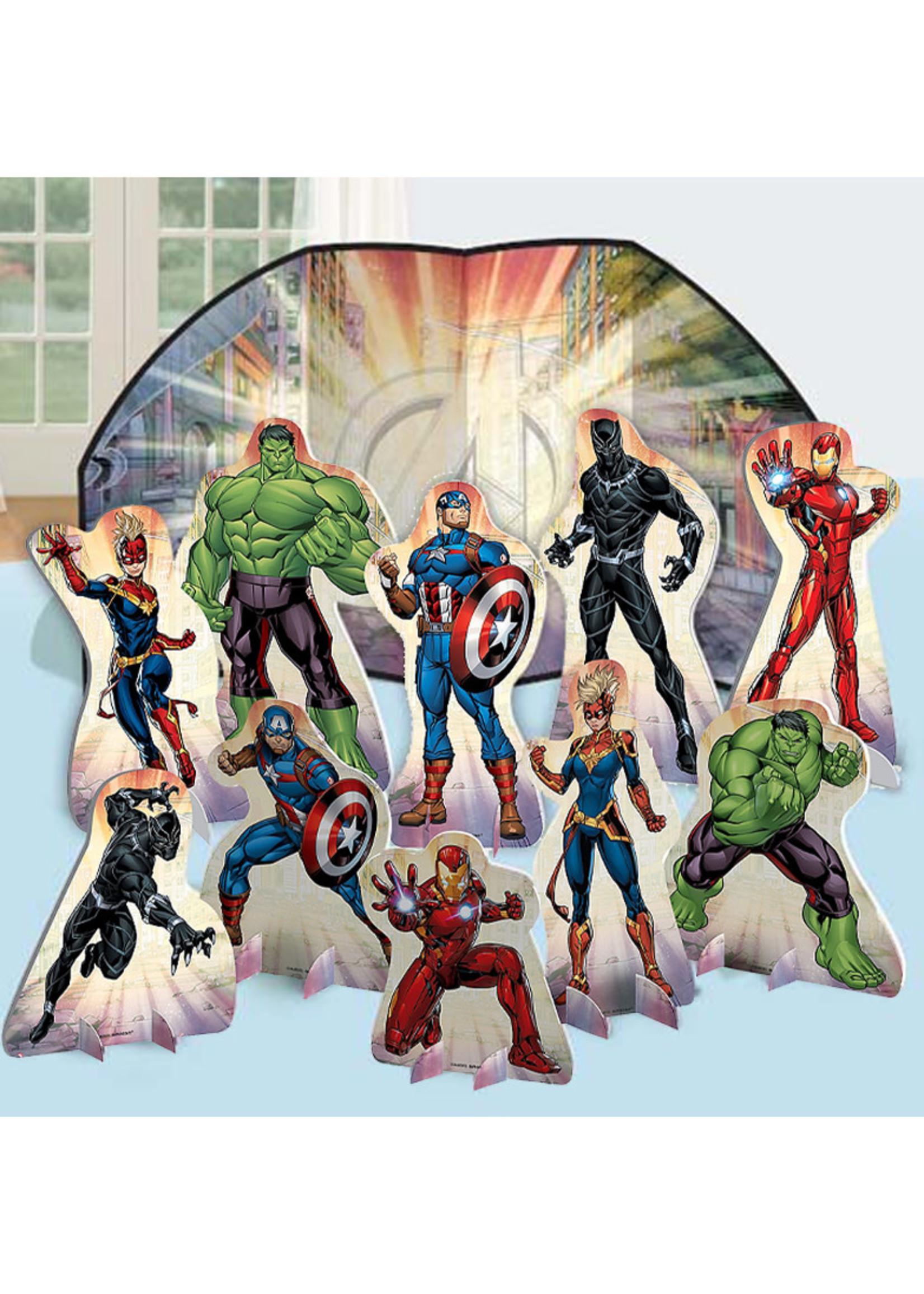 Marvel Powers Unite Table Decorating Kit 11pc