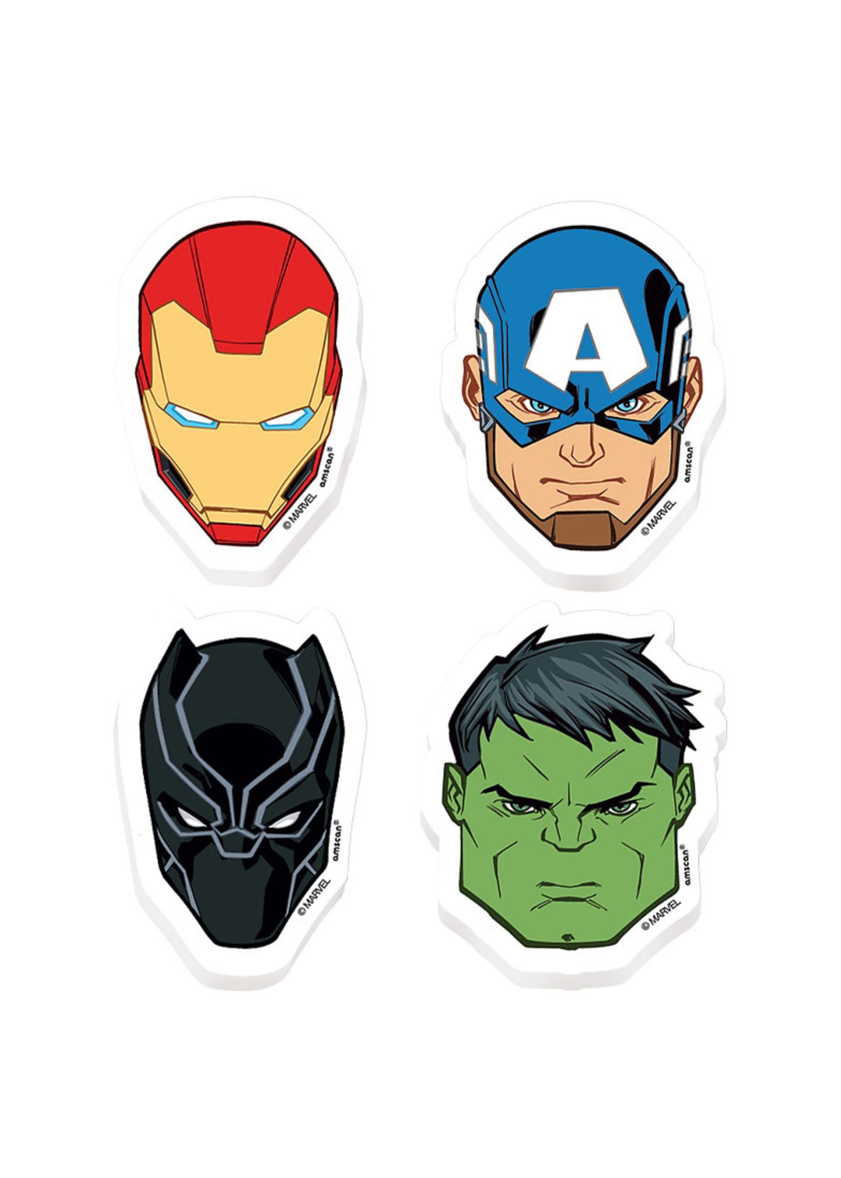 Marvel Powers Unite Erasers 8ct