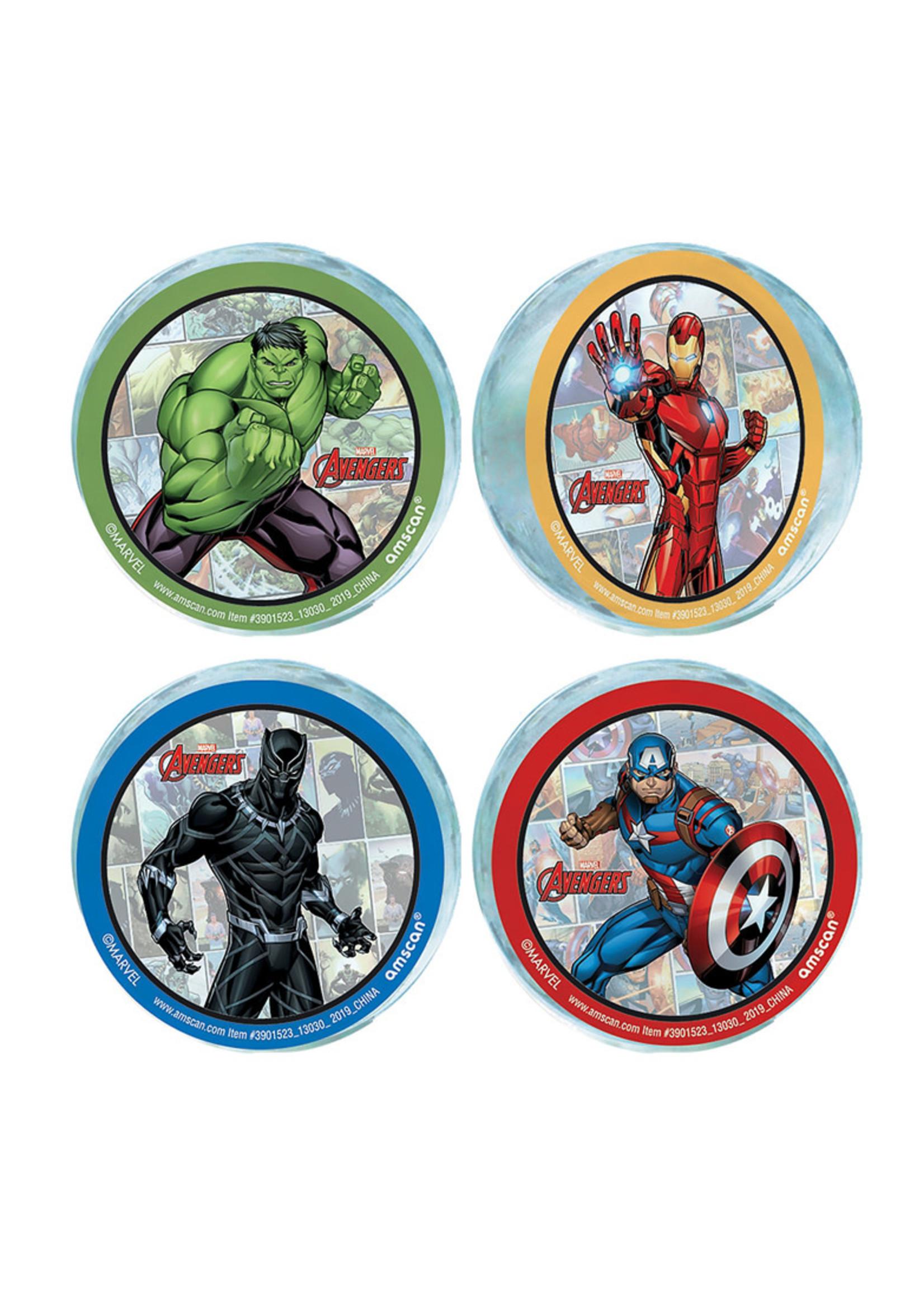 Marvel Powers Unite Bounce Balls 4ct