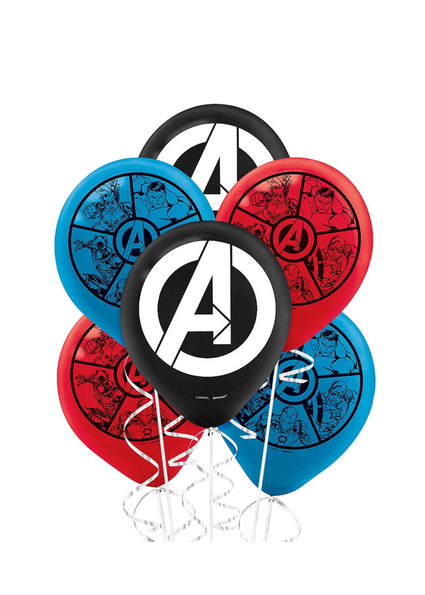Marvel Powers Unite Balloons 6ct