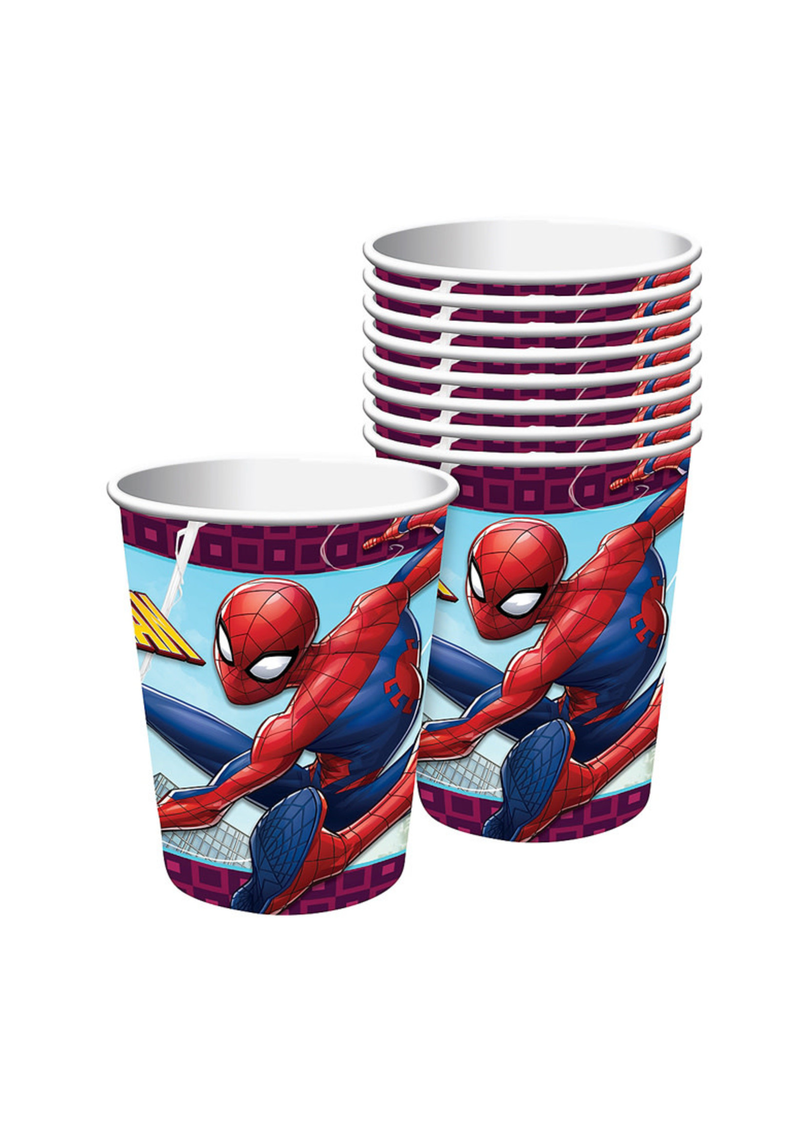 Spider-Man Webbed Wonder Cups 8ct