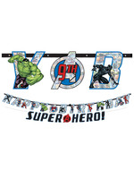 Marvel Powers Unite Personalized Birthday Banner Kit 2ct