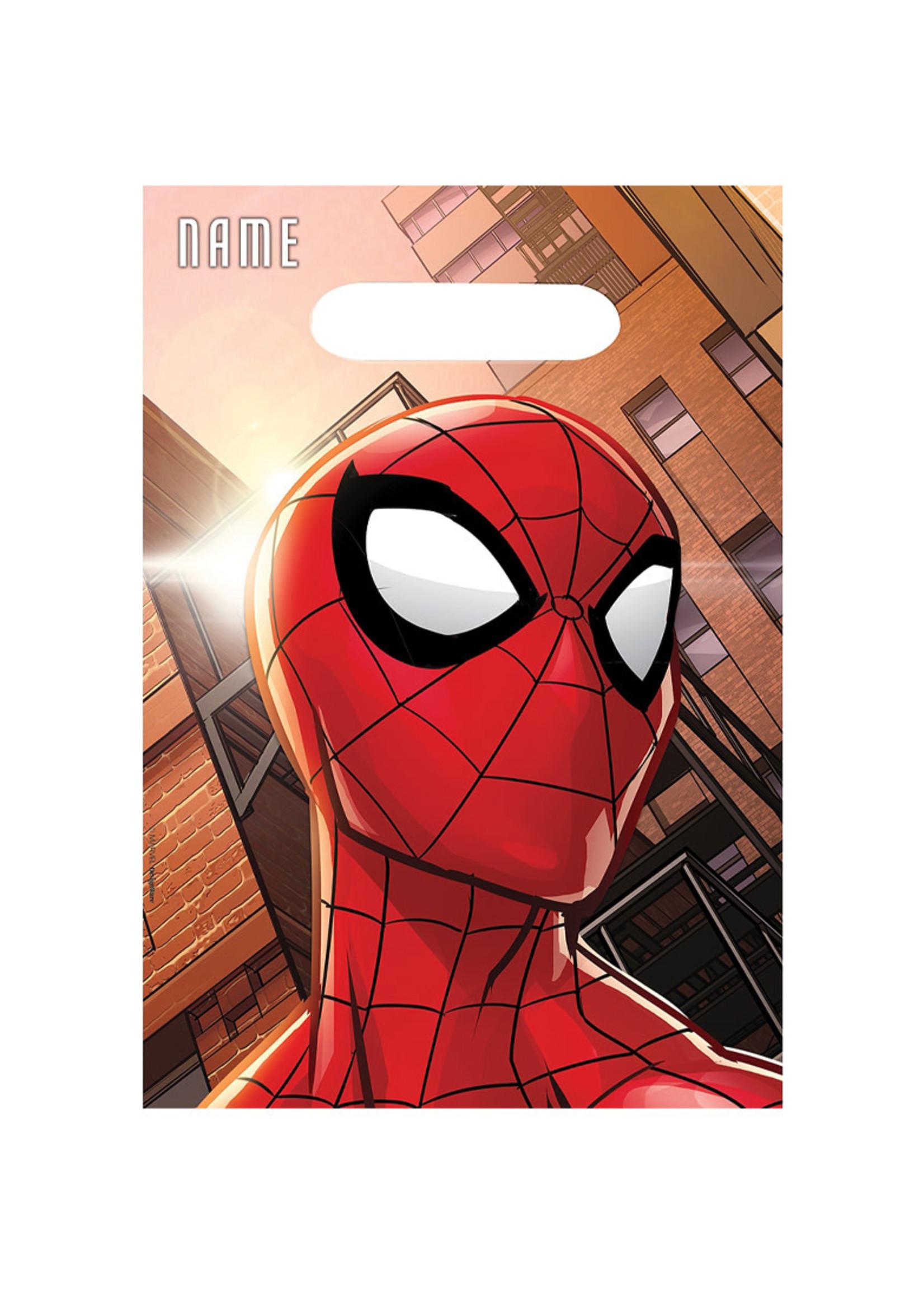 Spider-Man Webbed Wonder Favor Bags 8ct