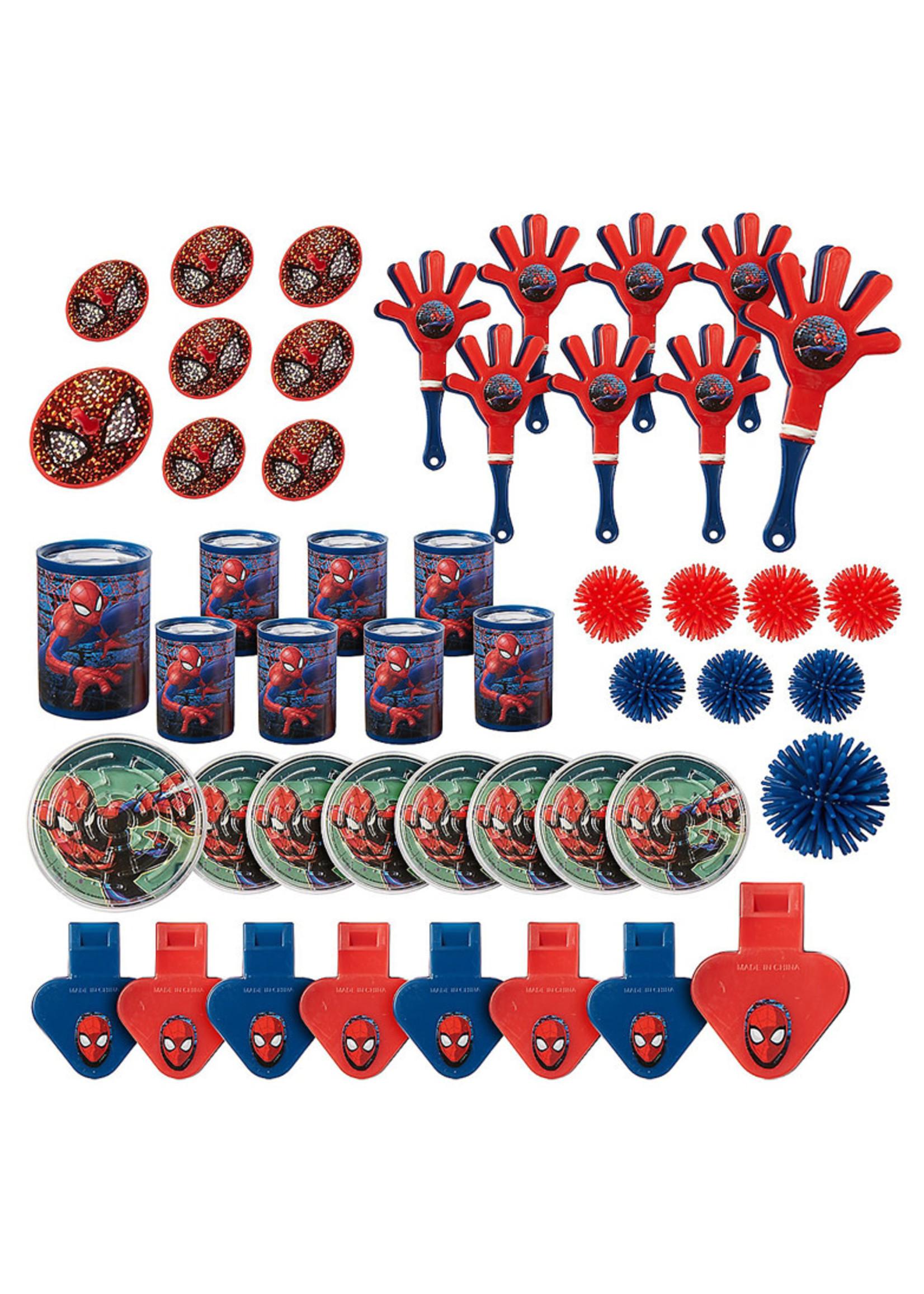 Spider-Man Webbed Wonder Favor Pack 48pc