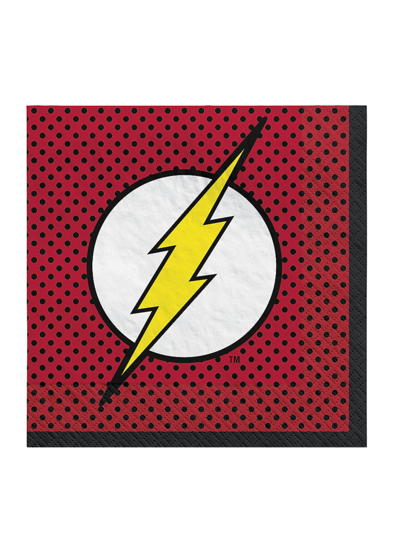 Justice League Heroes Unite The Flash Lunch Napkins 16ct