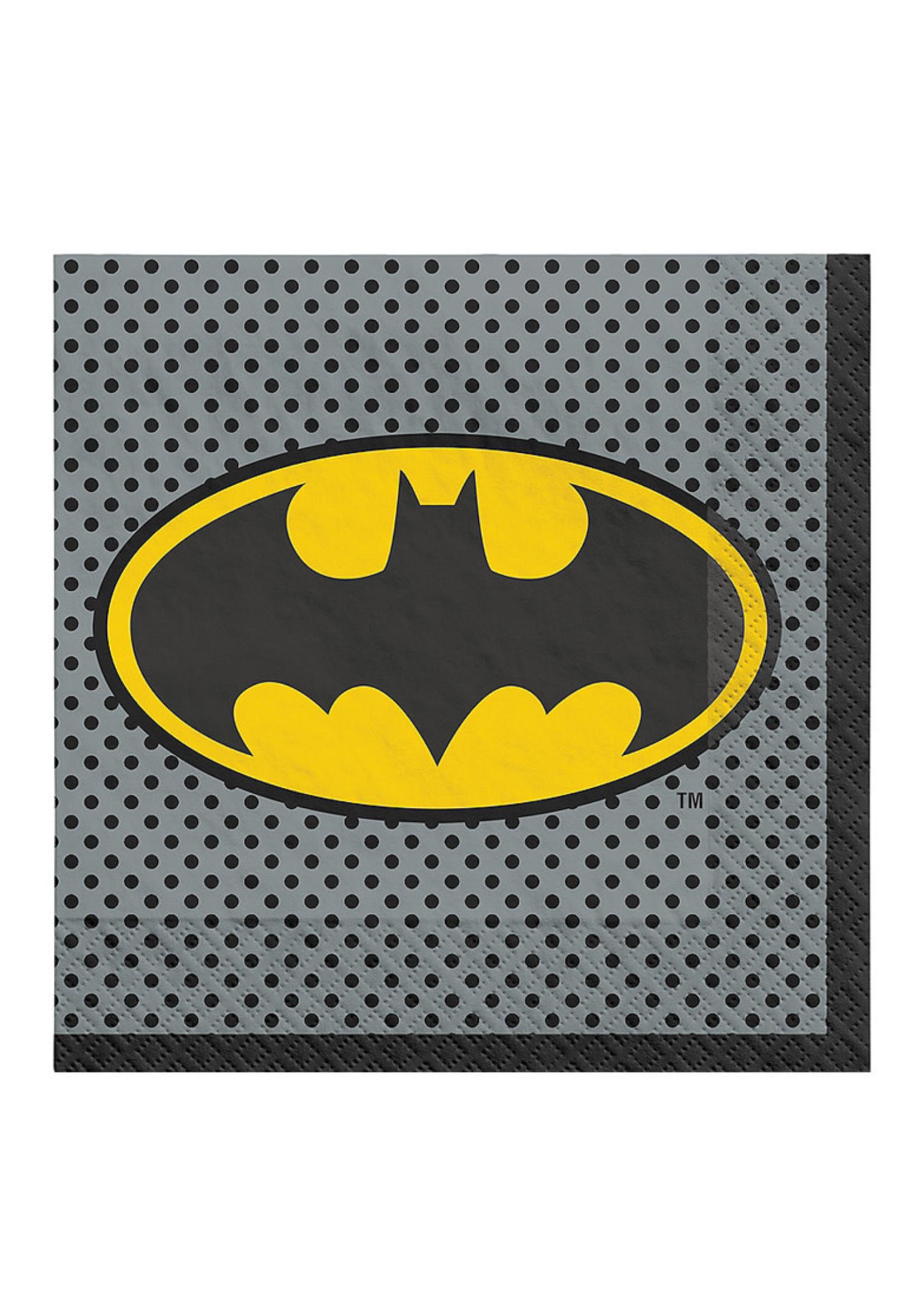 Justice League Heroes Unite Batman Lunch Napkins 16ct