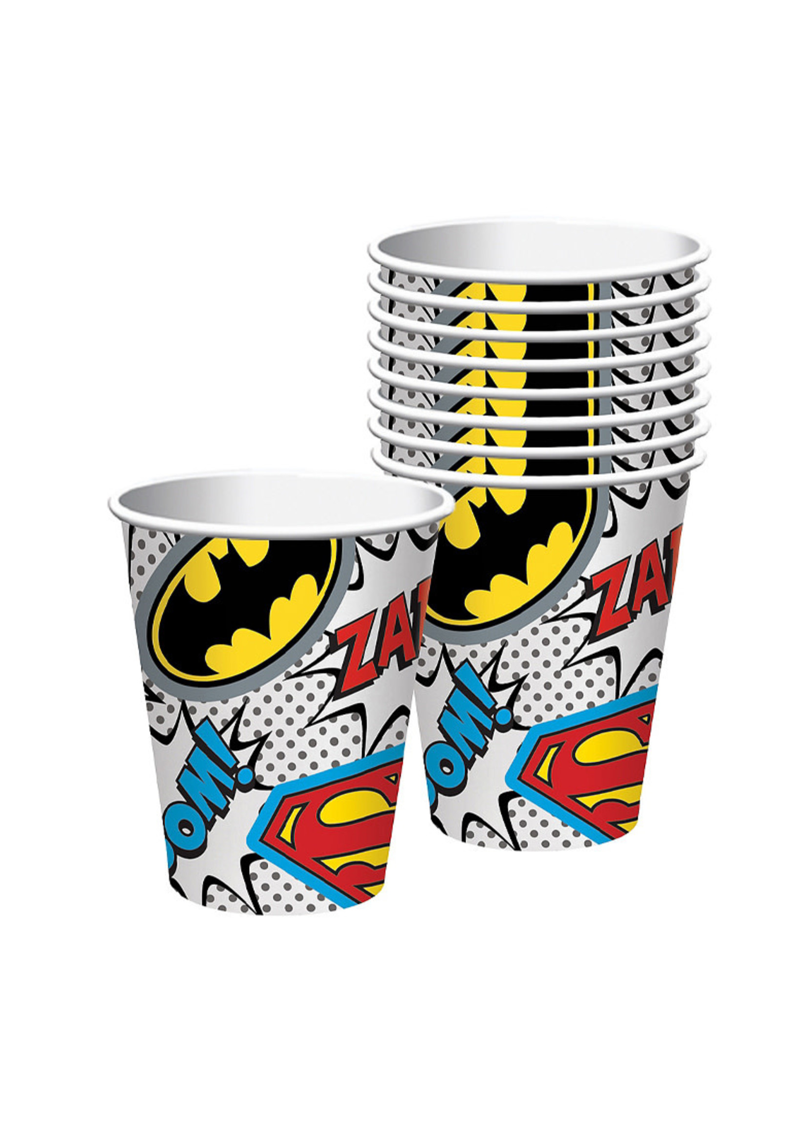 Justice League Heroes Unite Cups 8ct