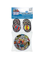 Justice League Heroes Unite Cupcake Decorating Kit for 24
