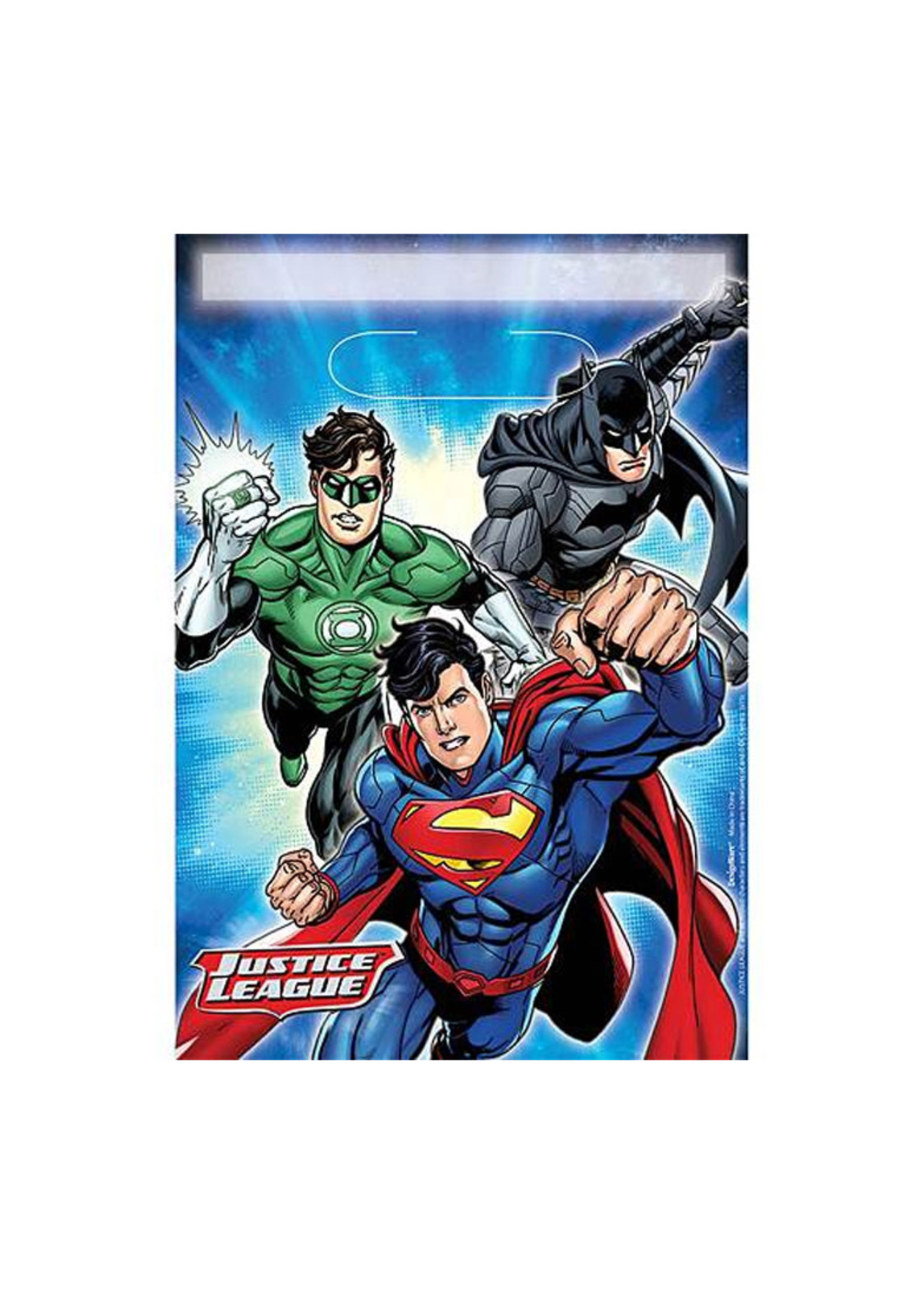 Justice League Loot Bags - 8ct