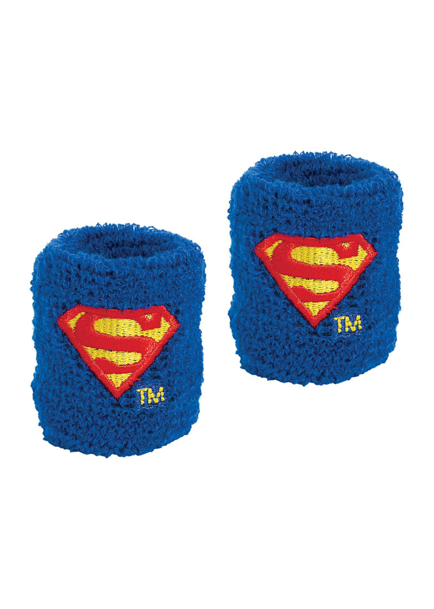 Justice League Heroes Unite Superman Sweatbands 8ct