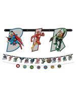 Justice League Heroes Unite Banner Kit 2ct