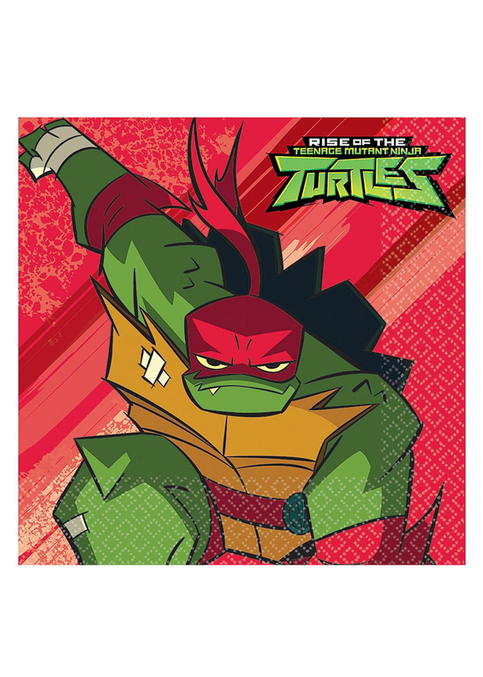 Rise of the Teenage Mutant Ninja Turtles Lunch Napkins 16ct