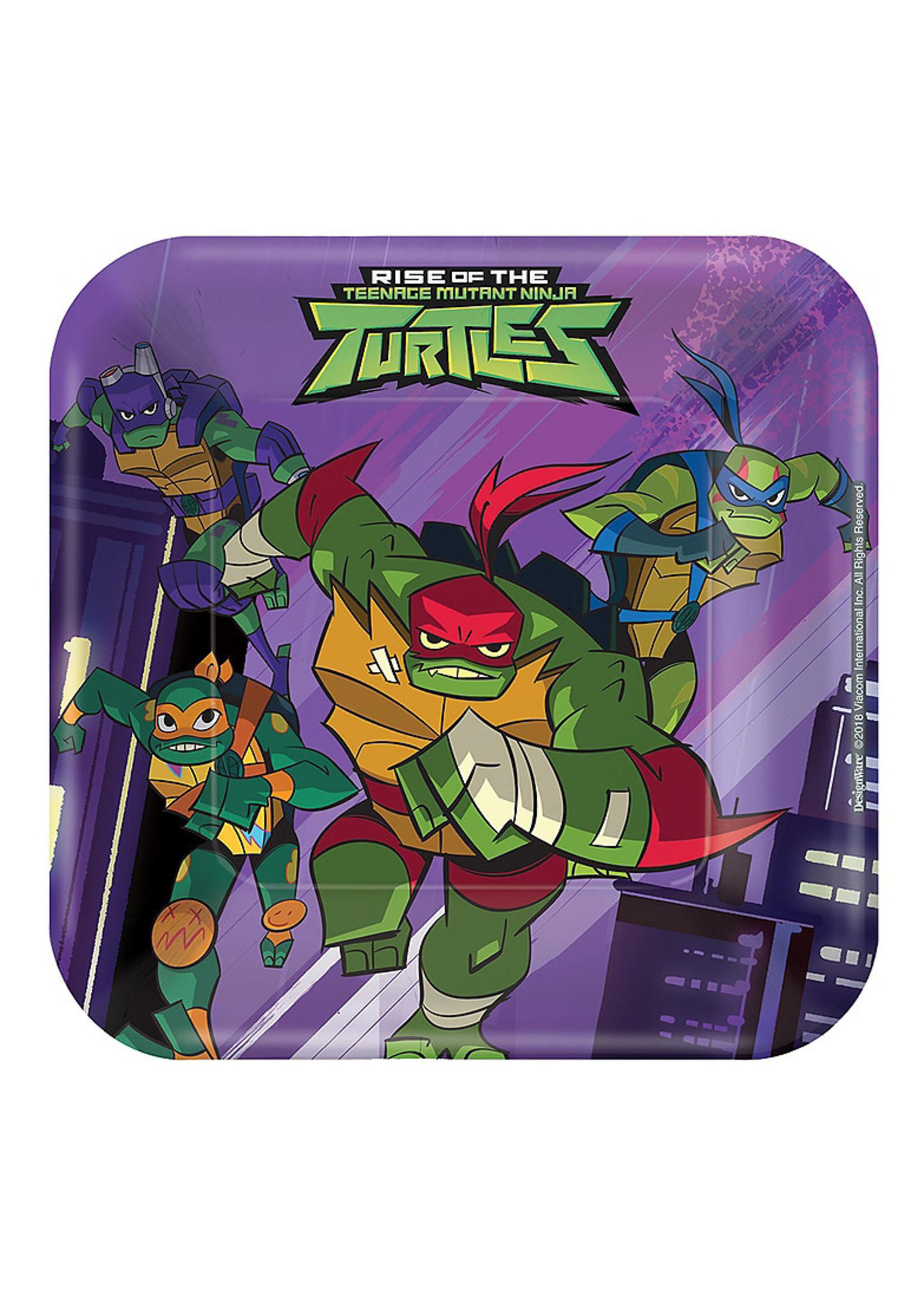 Rise of the Teenage Mutant Ninja Turtles Dessert Plates 8ct