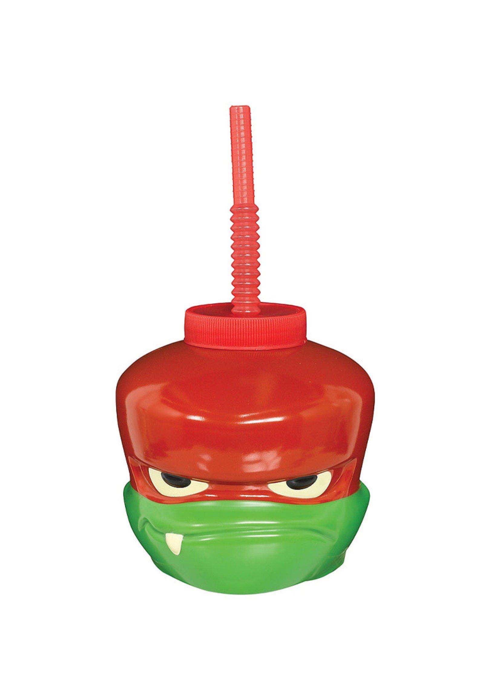 Raphael Cup with Straw - Rise of the Teenage Mutant Ninja Turtles