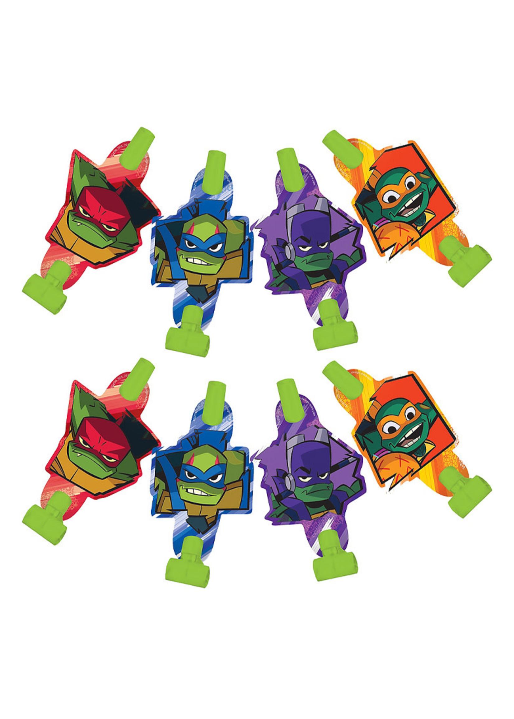 Rise of the Teenage Mutant Ninja Turtles Blowouts 8ct