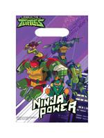 Rise of the Teenage Mutant Ninja Turtles Favor Bags 8ct