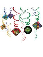 Rise of the Teenage Mutant Ninja Turtles Swirl Decorations - 12ct