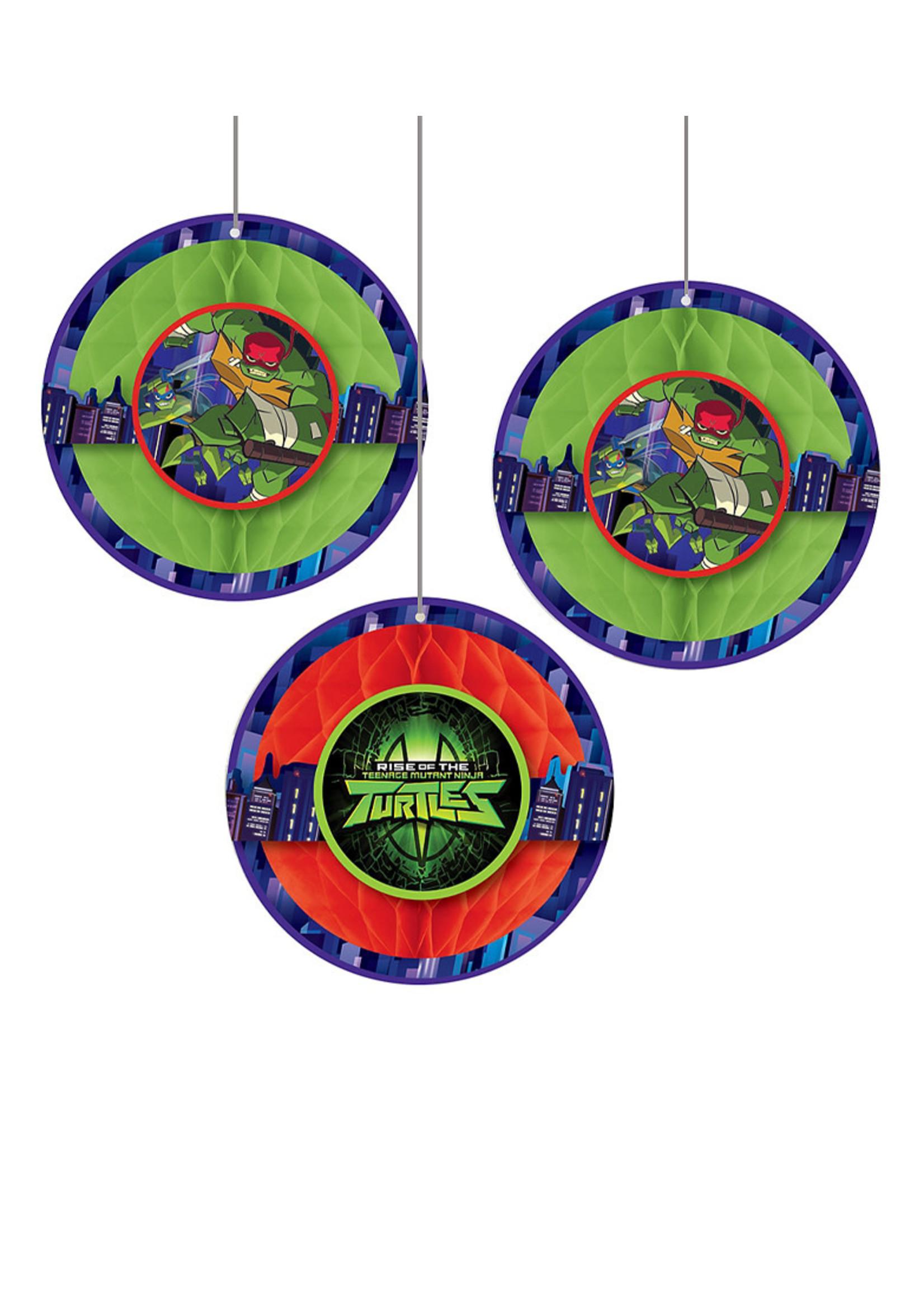 Rise of the Teenage Mutant Ninja Turtles Honeycomb Balls 3ct