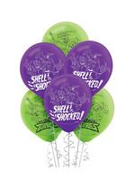 Rise of the Teenage Mutant Ninja Turtles Balloons 6ct