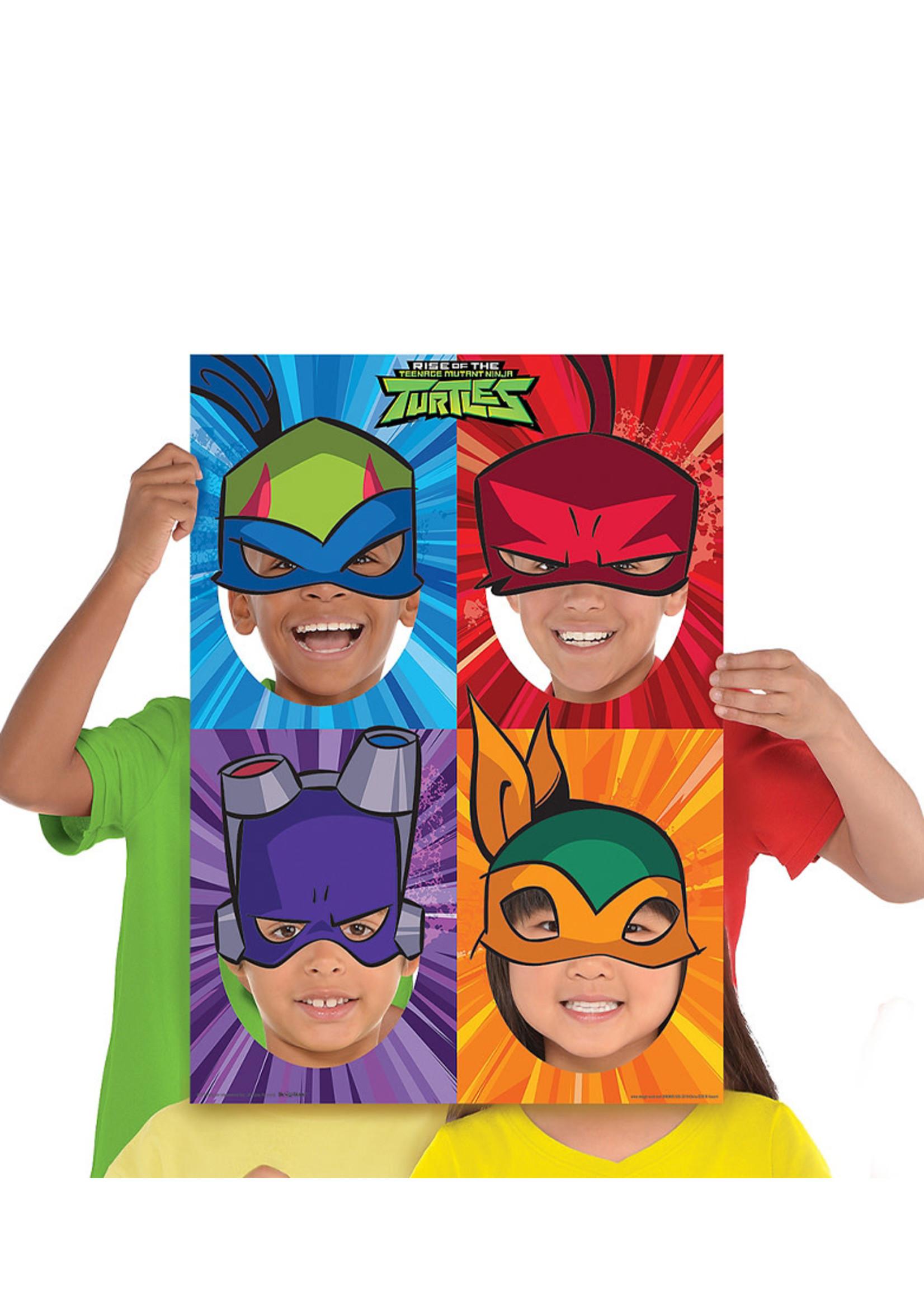 Rise of the Teenage Mutant Ninja Turtles Photo Booth Frame
