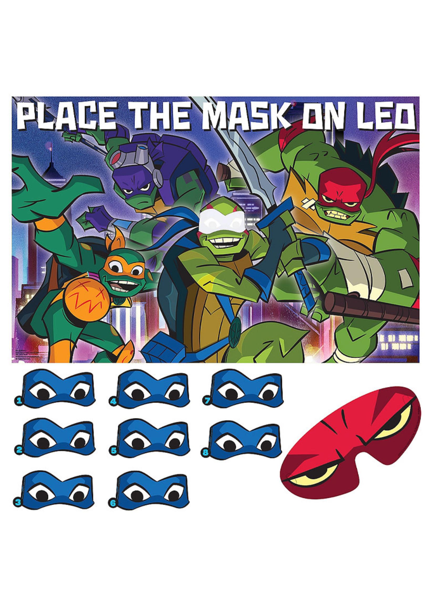 Rise of the Teenage Mutant Ninja Turtles Party Game