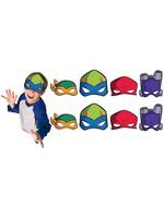 Rise of the Teenage Mutant Ninja Turtles Masks 8ct
