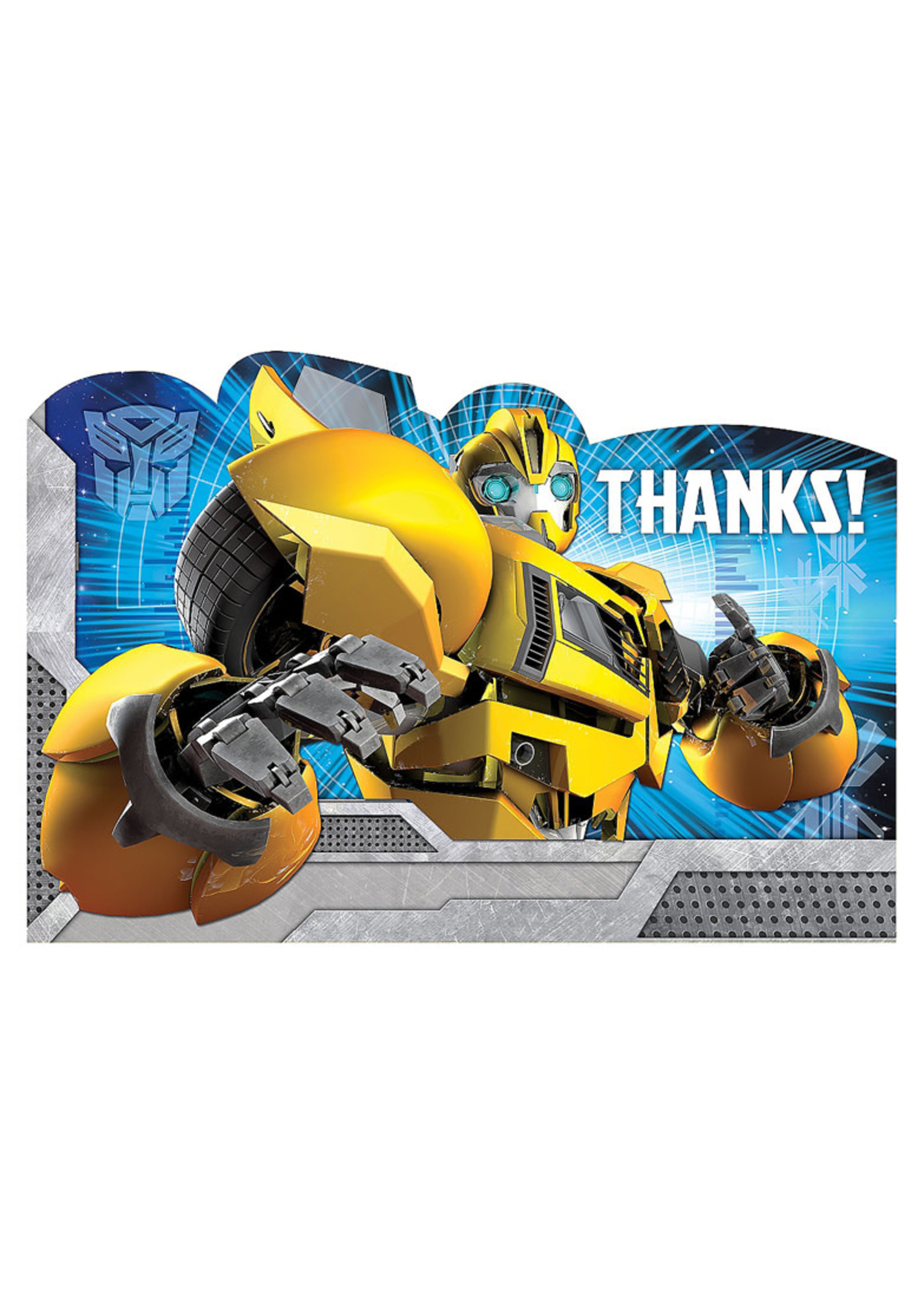 Transformers Thank You Notes 8ct