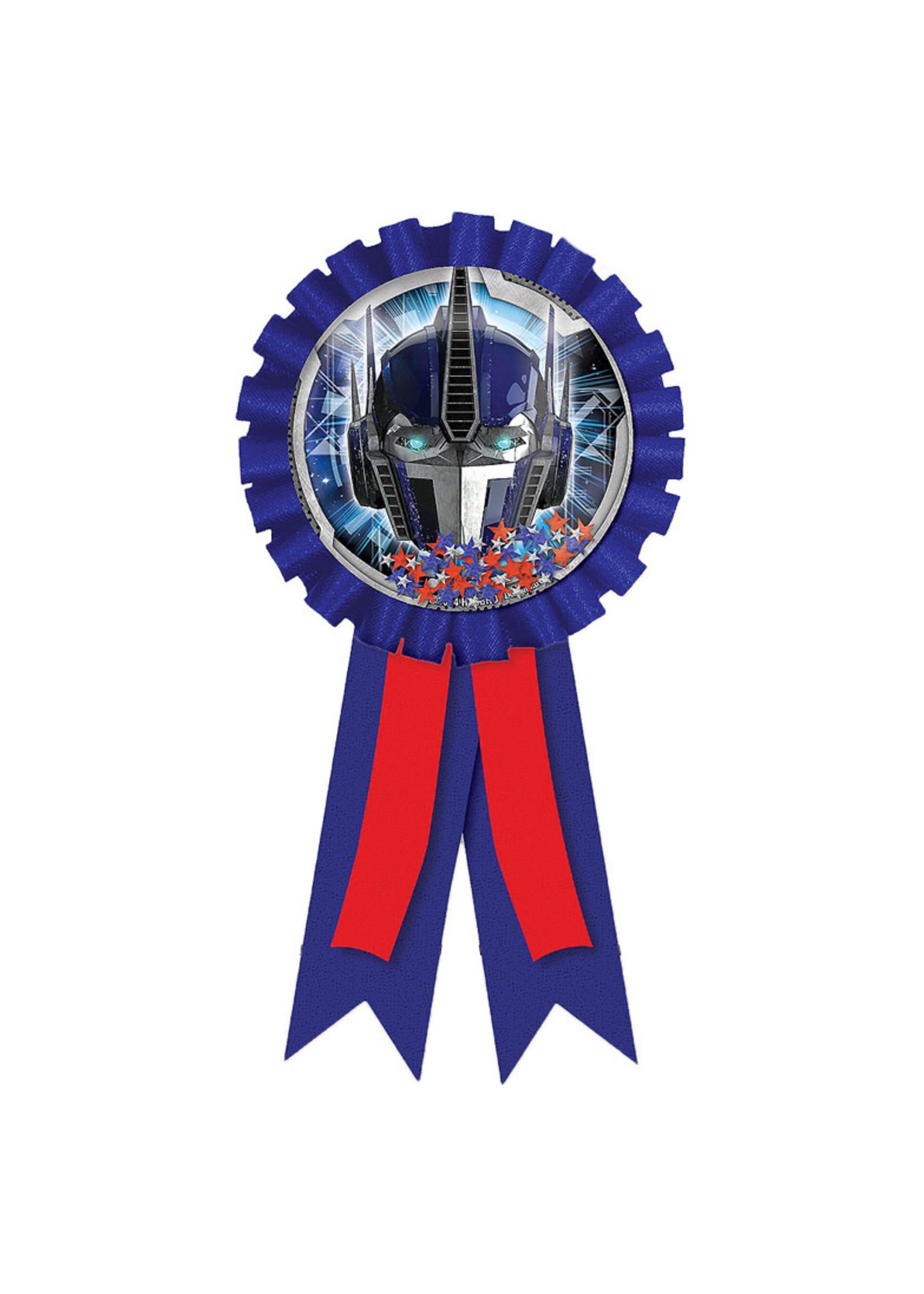 Transformers Award Ribbon