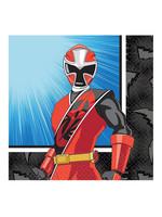 Power Rangers Ninja Steel Beverage Napkins 16ct