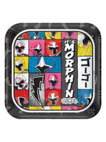 Power Rangers Ninja Steel Dessert Plates 8ct