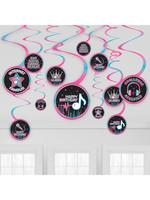 Internet Famous Birthday Swirl Decorations - 12ct