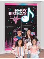 Internet Famous Birthday Photo Booth Kit - 16pc