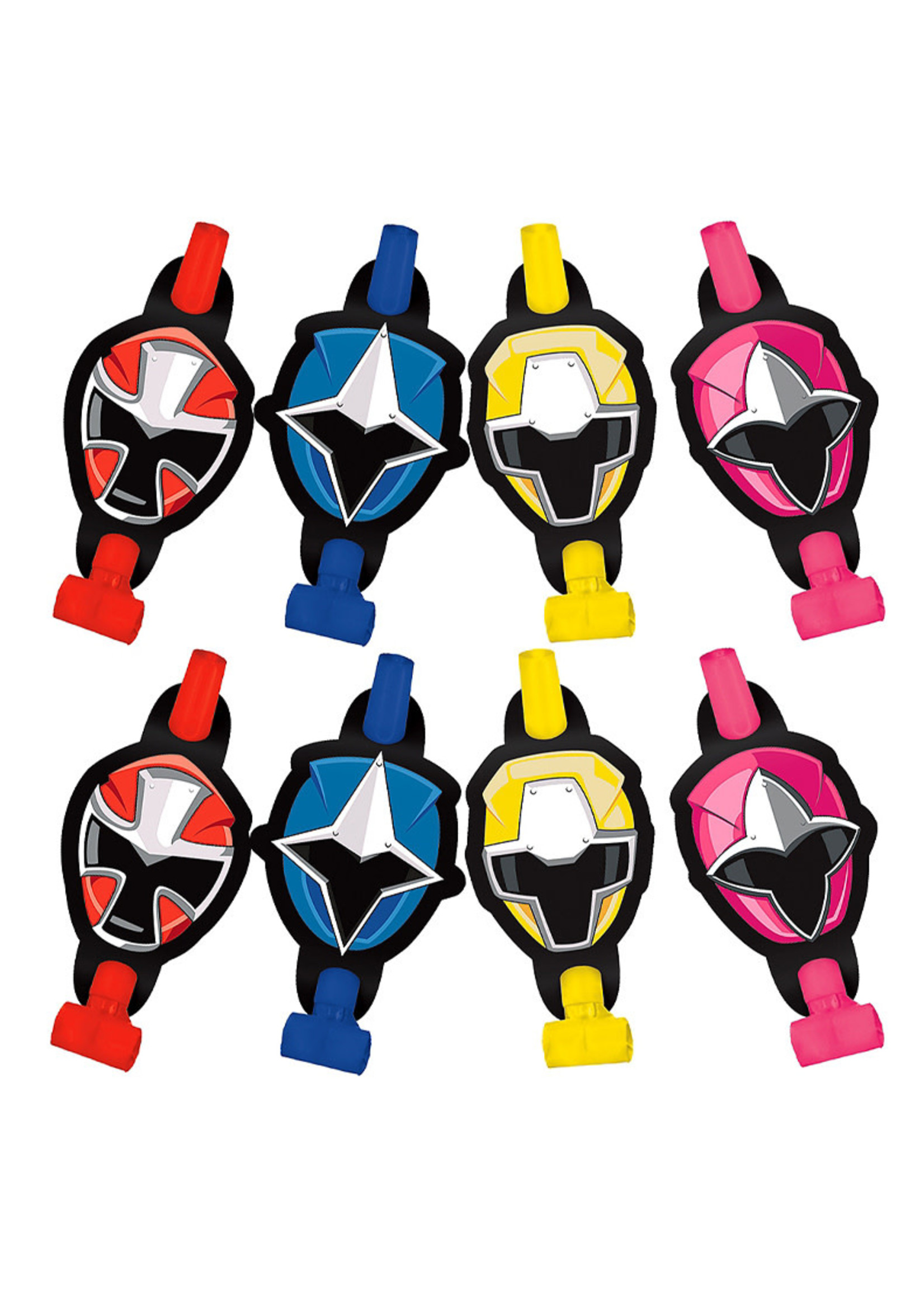 Power Rangers Ninja Steel Blowouts 8ct
