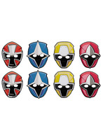Power Rangers Ninja Steel Masks 8ct