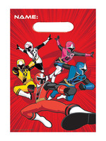 Power Rangers Ninja Steel Favor Bags 8ct