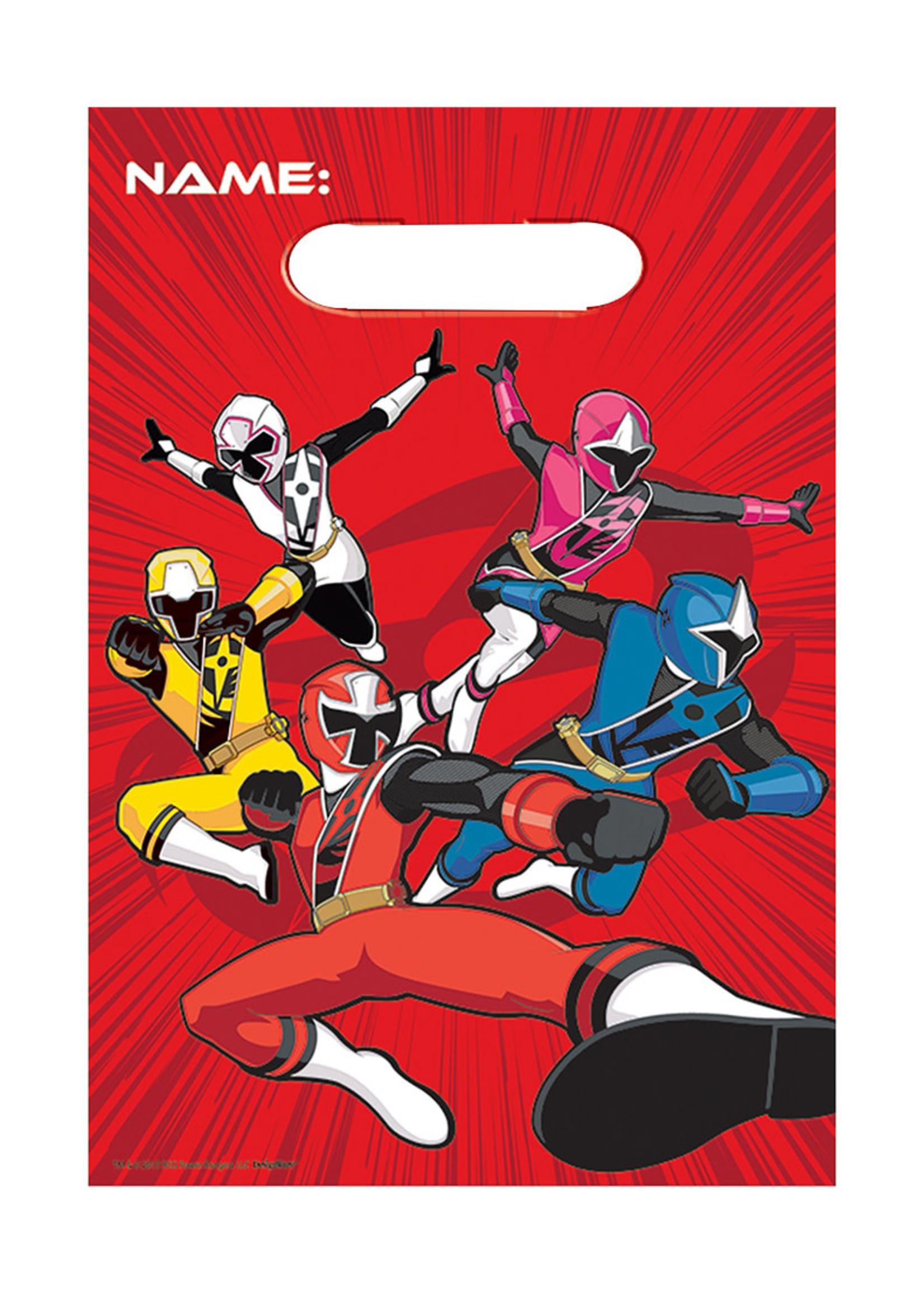 Power Rangers Ninja Steel Favor Bags 8ct