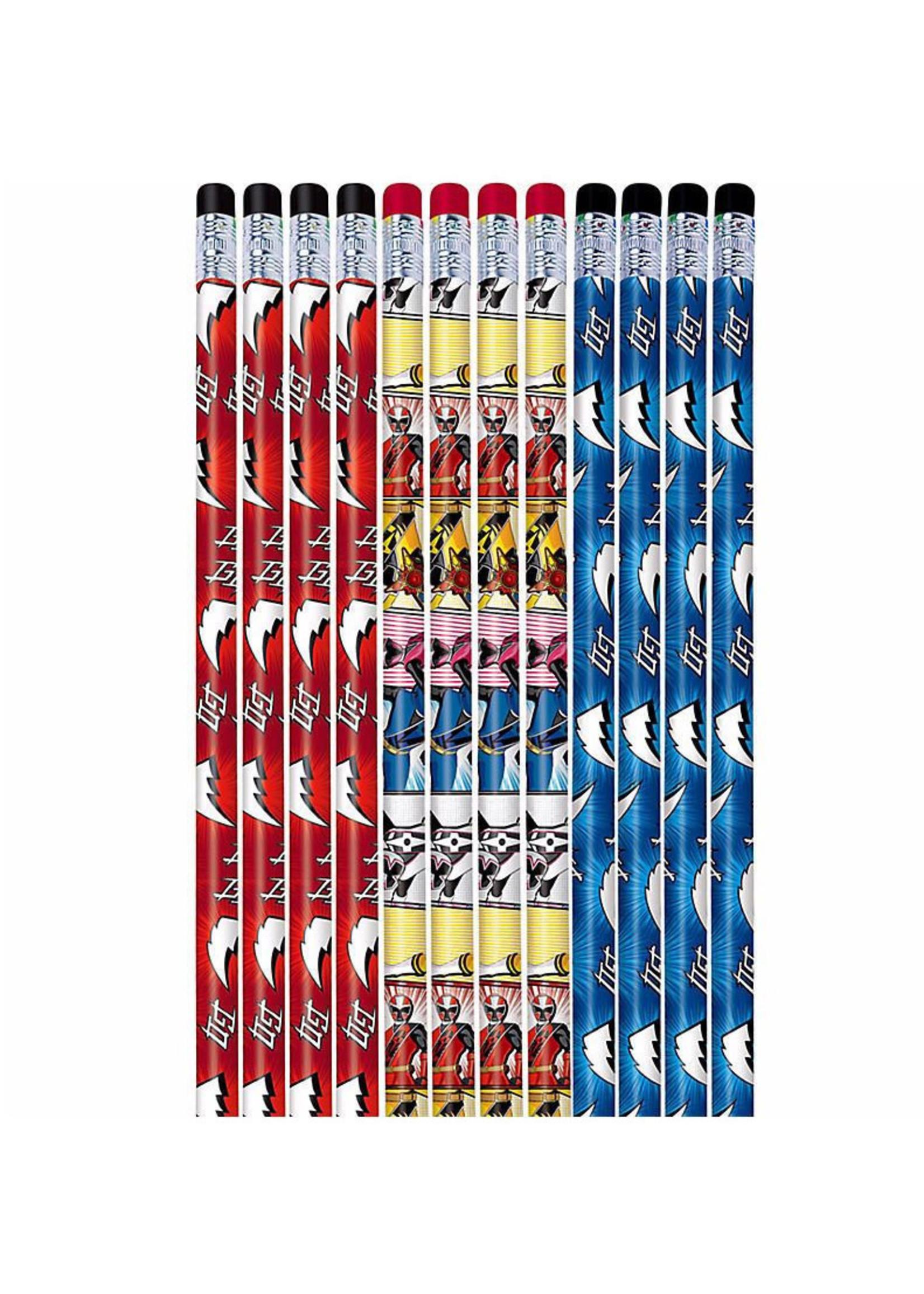 Power Rangers Ninja Steel Pencils - 12ct