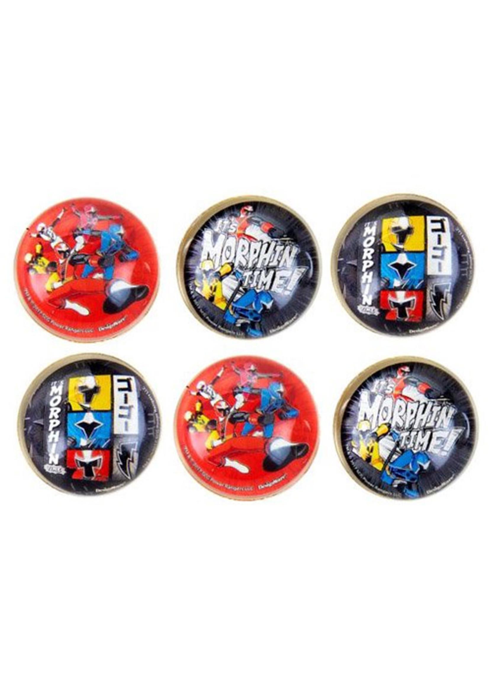 Power Rangers Ninja Steel Bounce Balls - 6ct