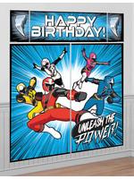 Power Rangers Ninja Steel Scene Setter 5pc